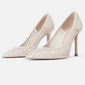 ZARA Caged Strappy High-heels